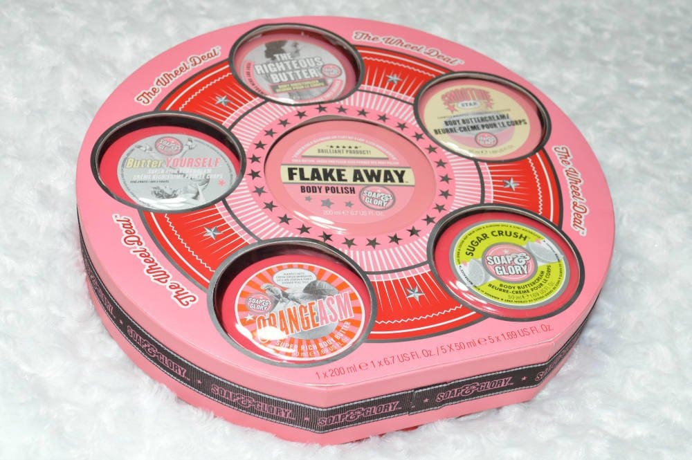 Soap and Glory The Wheel Deal Gift Set