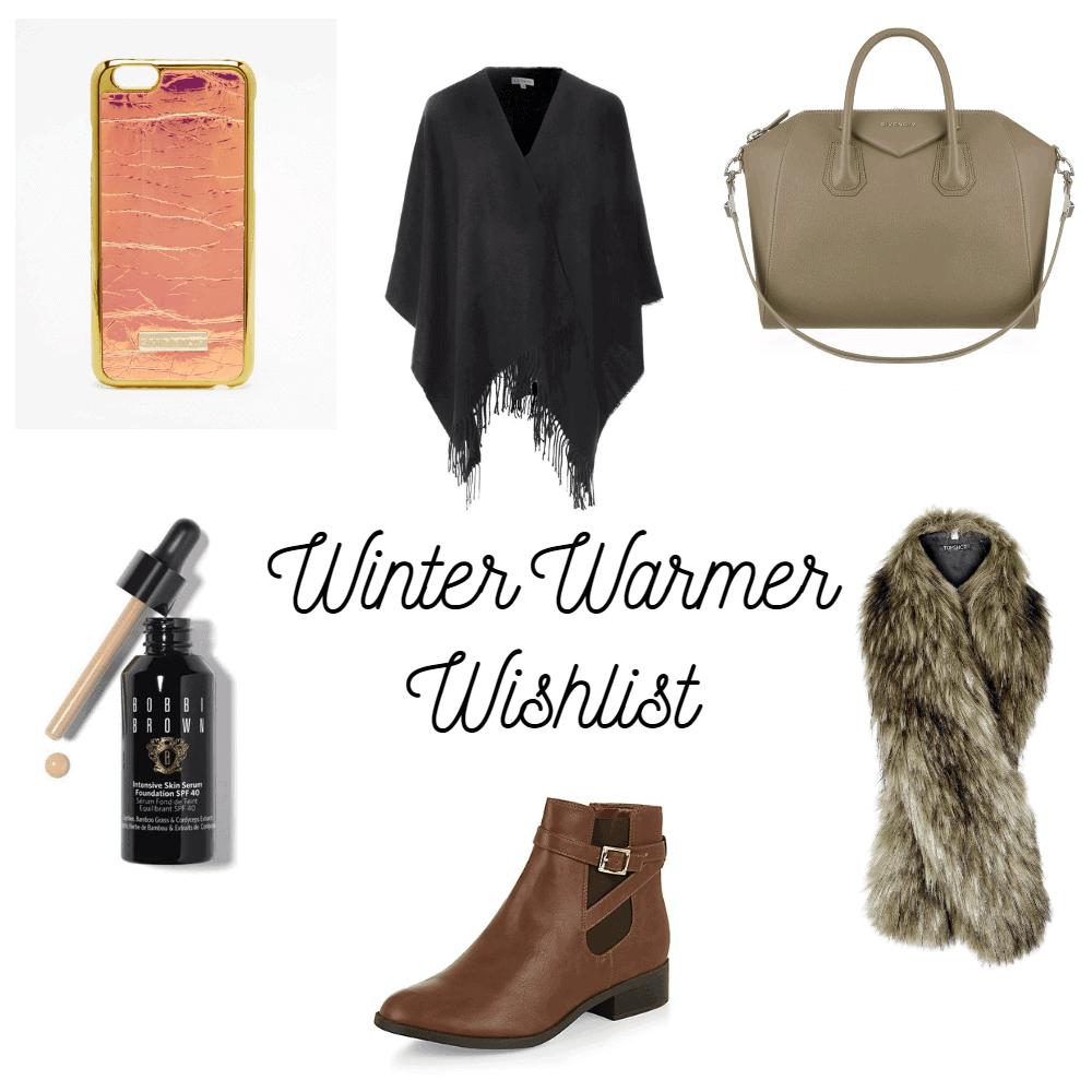 Winter Warmer Wishlist 2015
