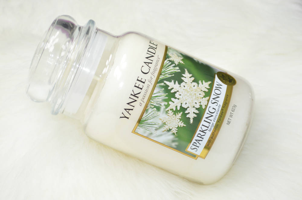 Yankee Candle Sparkling Snow Candle