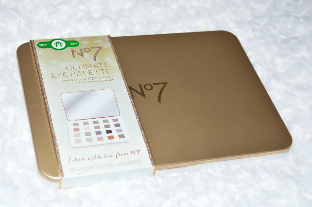 No7 Ultimate Eye Palette Review and Swatches