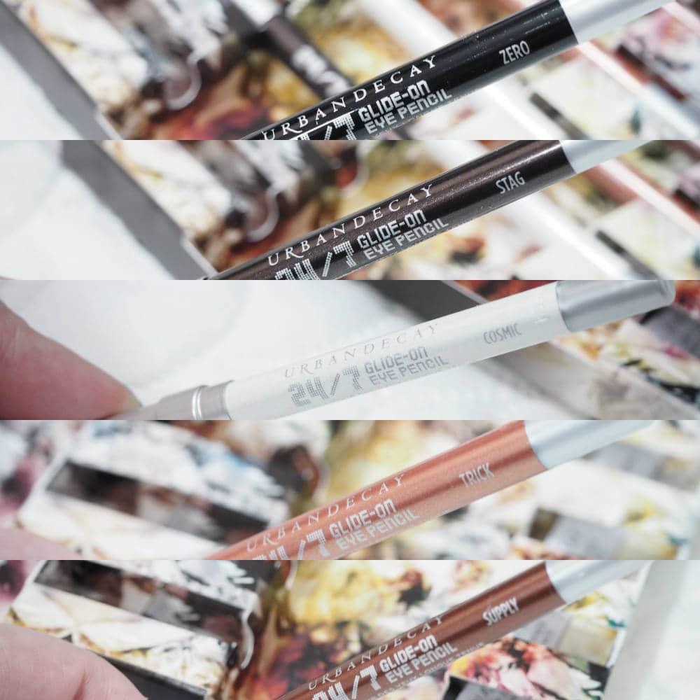Urban Decay Cosmic 24/7 Travel Size Pencil Set