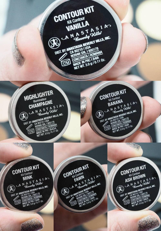 Anastasia Beverly Hills Custom Contour Palette