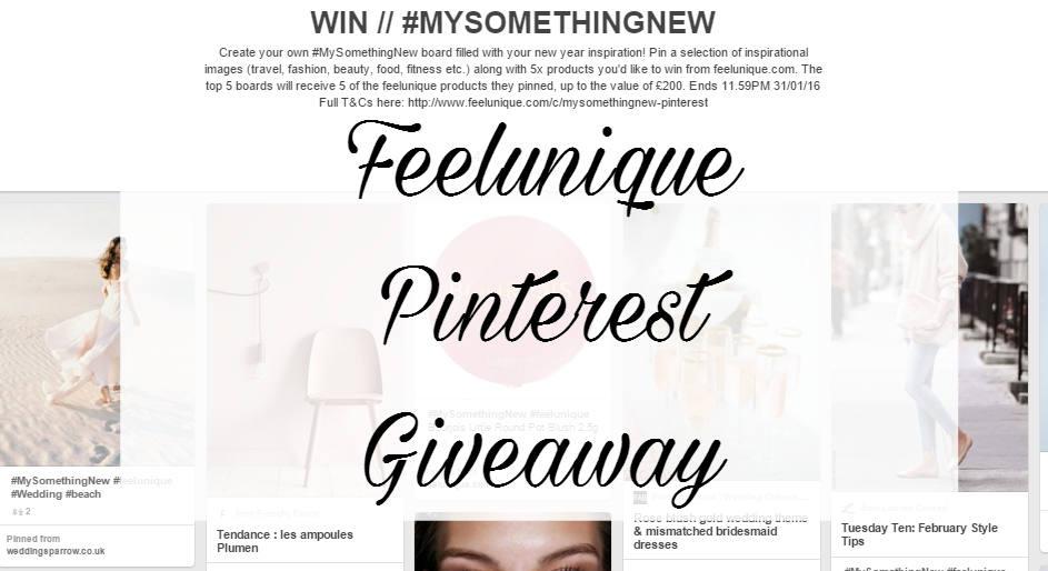Feelunique Pinterest Giveaway