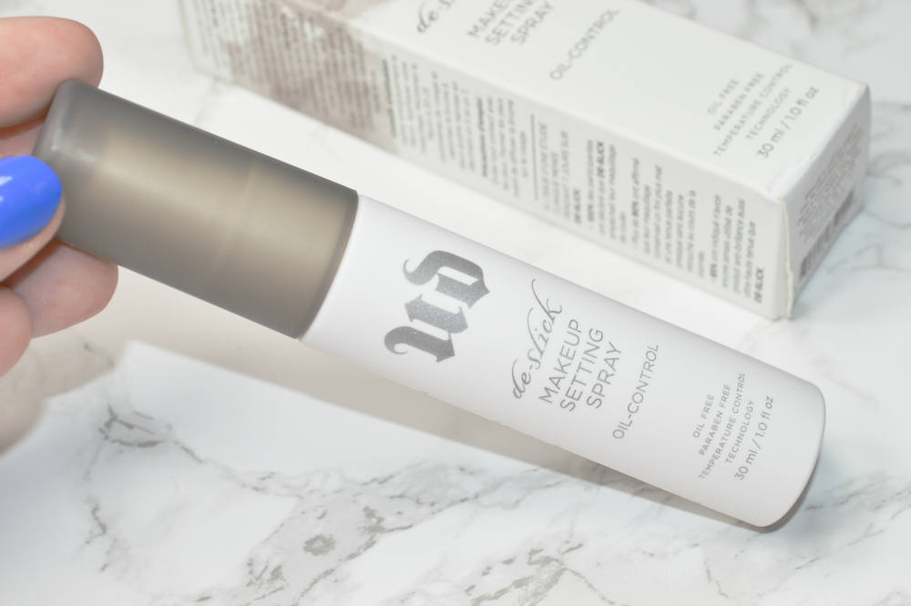 Urban Decay De-Slick Makeup Setting Spray