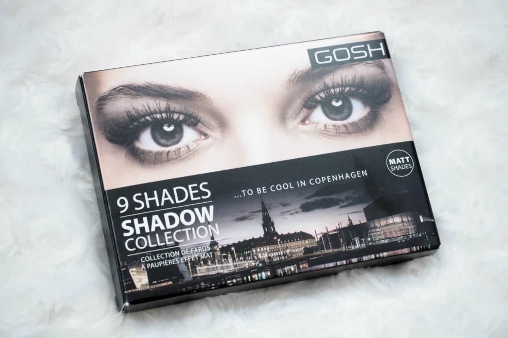 GOSH To Be Cool In Copenhagen Matte Eyeshadow Palette