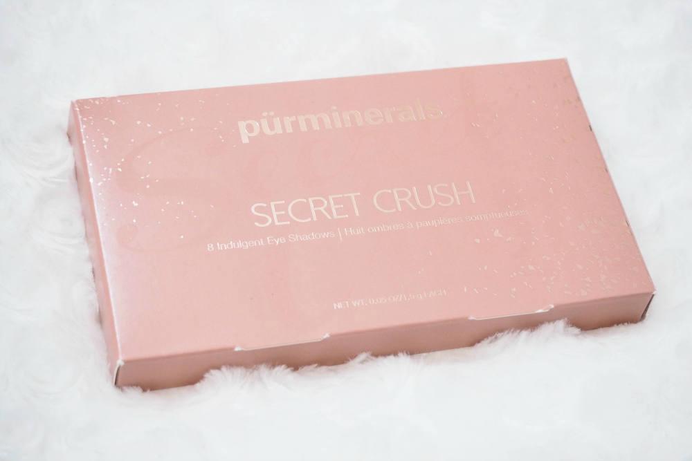 Pur Minerals Secret Crush Eyeshadow Palette