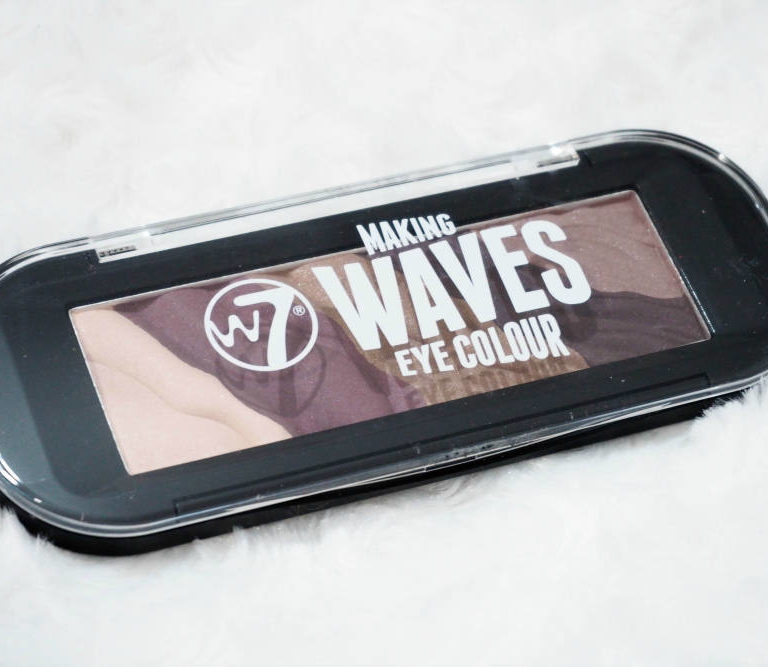 W7 Making Waves Eye Colour Palette Review and Swatches