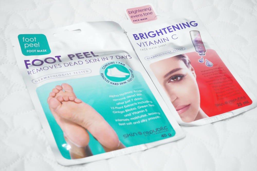 Skin Republic Face Mask and Foot Peel