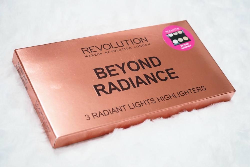 makeup revolution beyond radiance highlighter palette. Black Bedroom Furniture Sets. Home Design Ideas