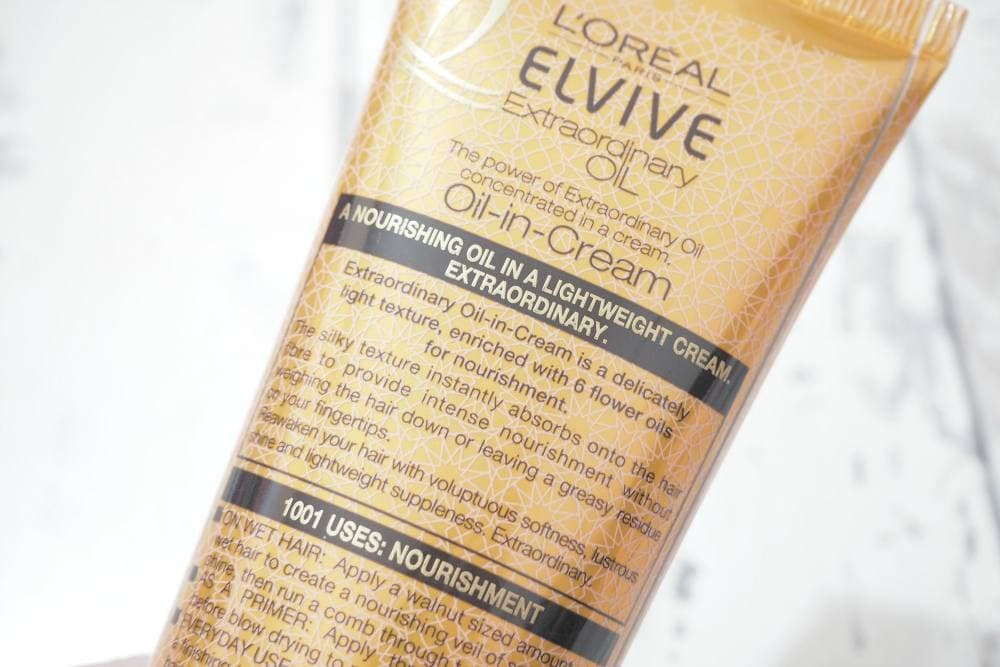 L'Oreal Elvive Extraordinary Oil In Cream Nourishing Leave In Cream