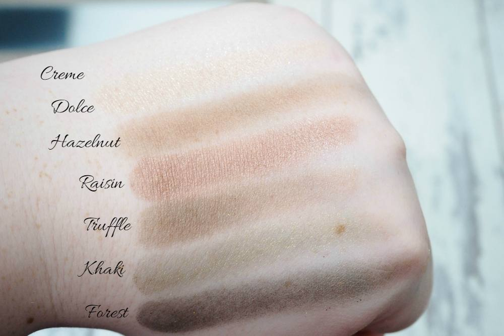 Laura Geller The Delectables Eyeshadow Palette Review Swatches