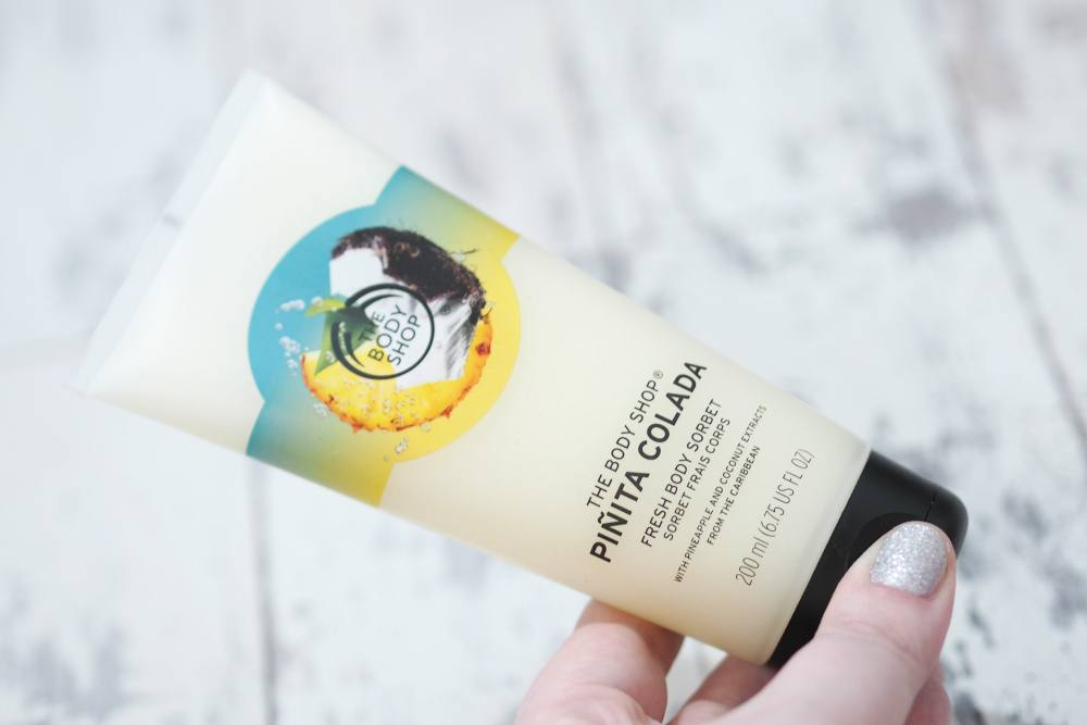 The Body Shop Pinita Colada Fresh Body Sorbet