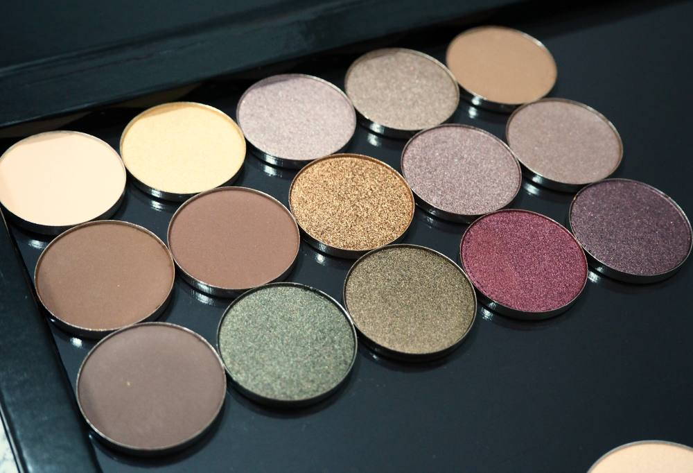 my coastal scents shadow pots collection review swatches gemma etc