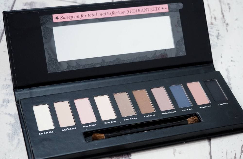 Soap and Glory The UltiMATTE Collection Eyeshadow Palette