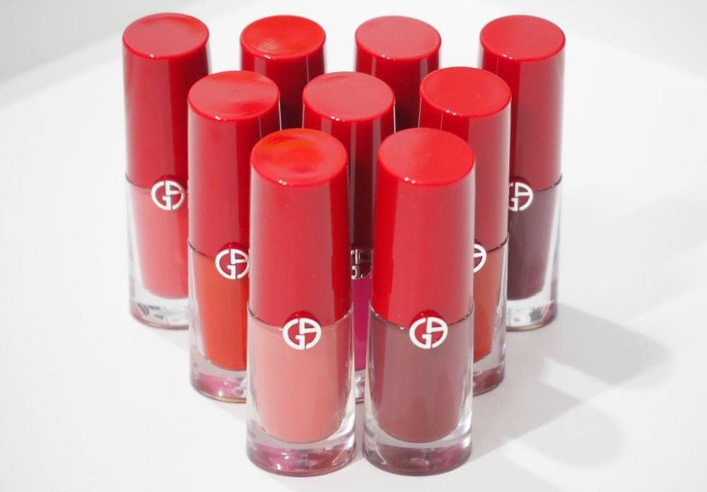 Giorgio Armani Lip Magnet Second Skin Intense Matte Colors