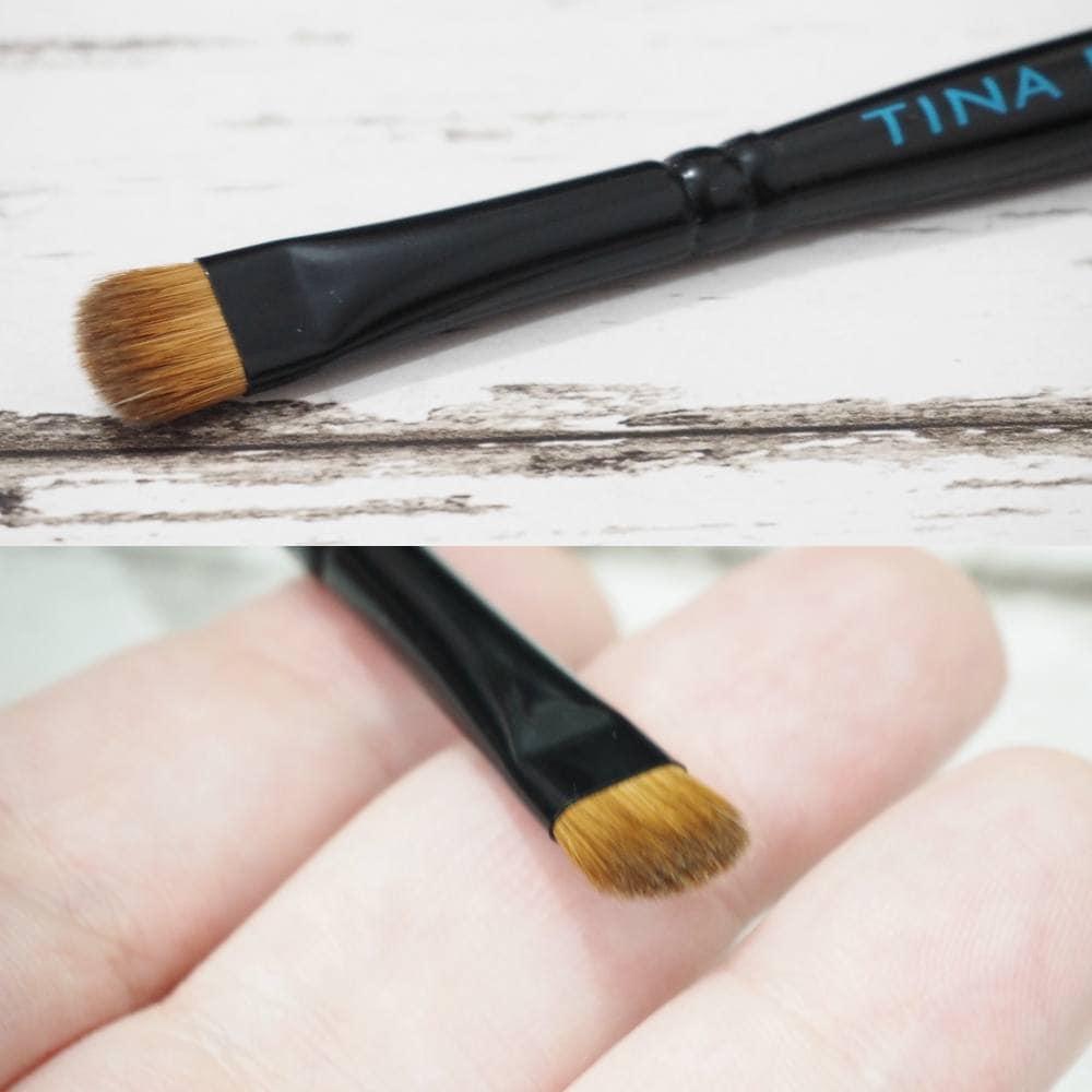 Tina Earnshaw Small Eyeliner Brush and Eye Blender Brush