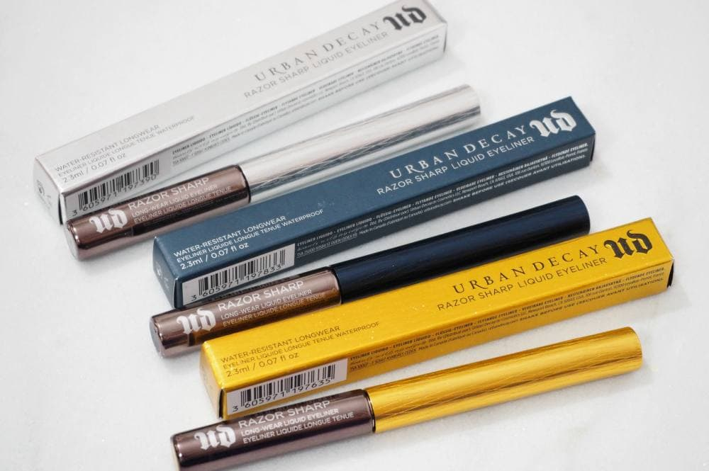 Urban Decay Razor Sharp Long-Wear Liquid Eyeliners