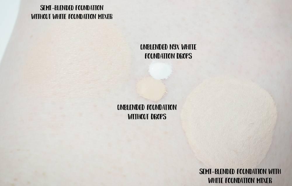 NYX White Pro Foundation Mixer