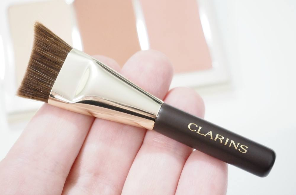 Clarins Face Contouring Palette and Brush