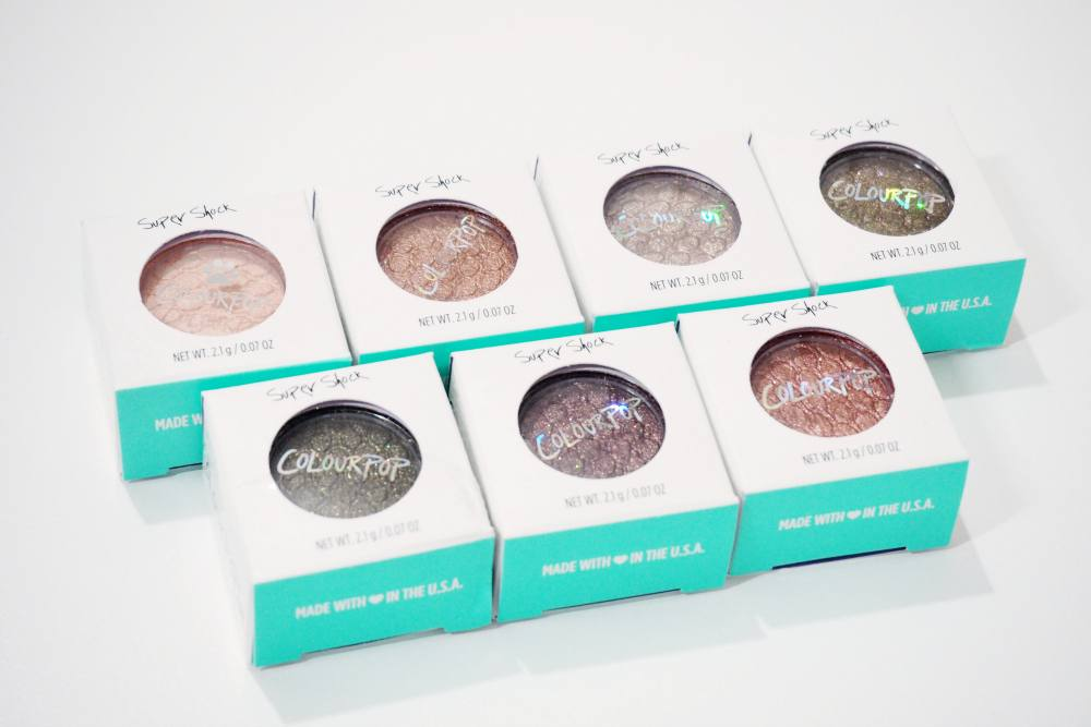 ColourPop Super Shock Shadows Haul