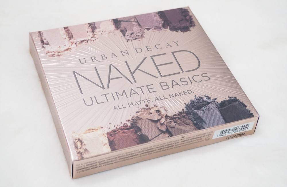 Urban Decay Naked Ultimate Basics Palette and Quick Fix Priming Spray