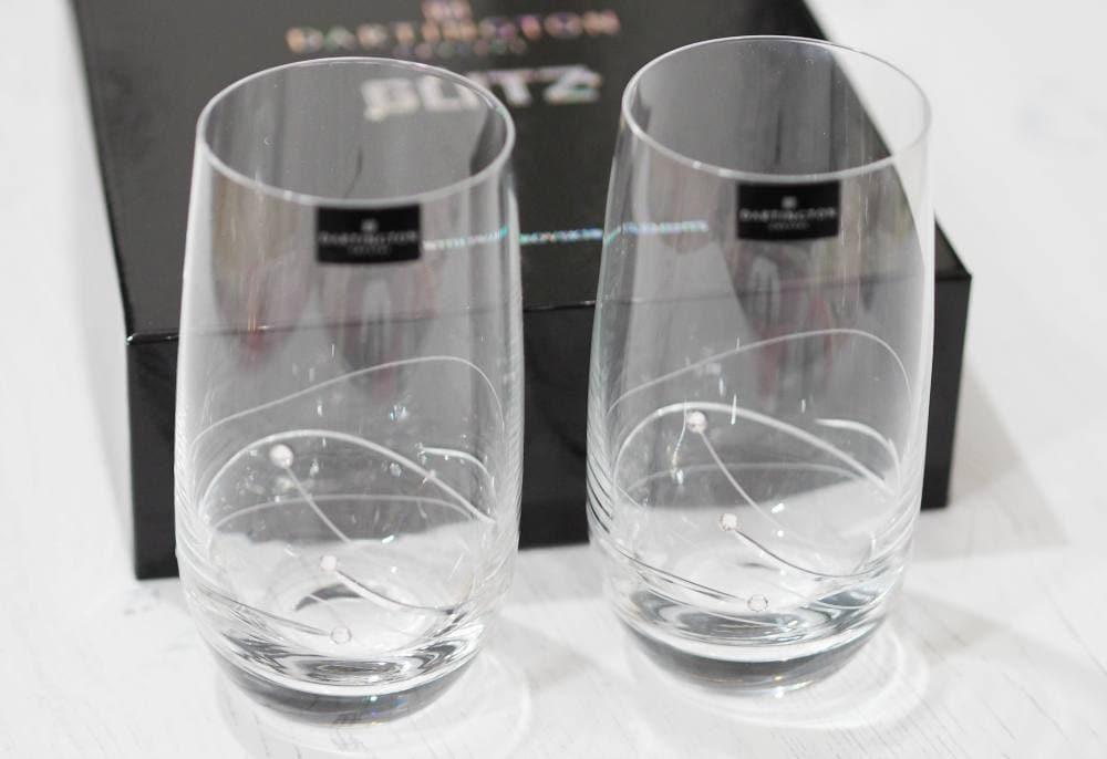 Dartington Crystal Glitz Highball Glasses