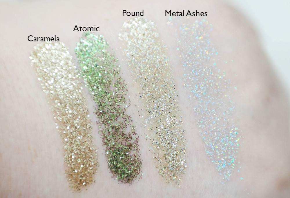 Glitter Tubes Pressed Glitters