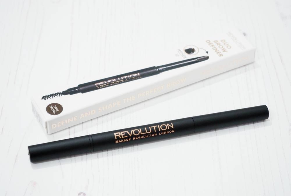 Makeup Revolution Duo Brow Definer