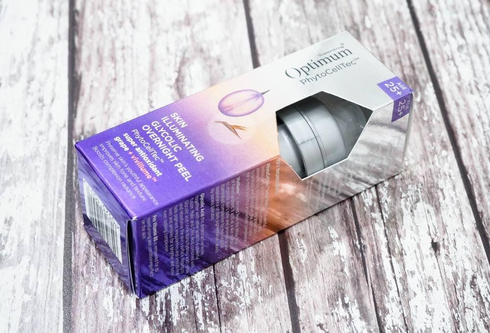 Superdrug Optimum Skin Illuminating Glycolic Overnight Peel