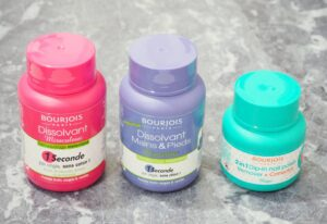 Bourjois Nail Polish Removers - Which is the best!