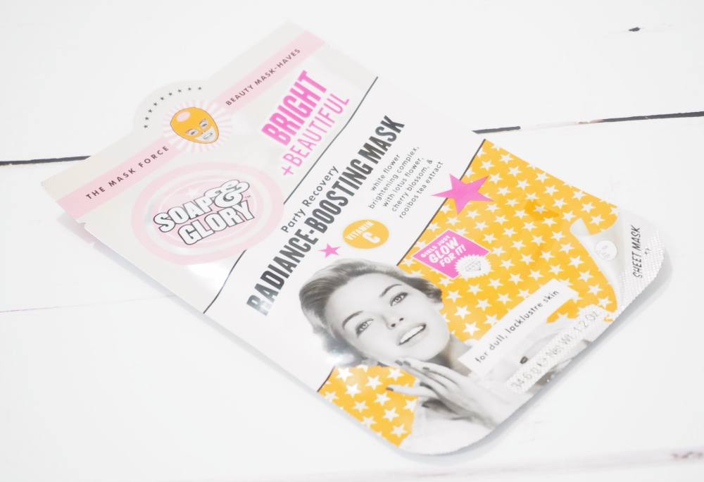 Soap and Glory Mask Force Five Face Mask Collection