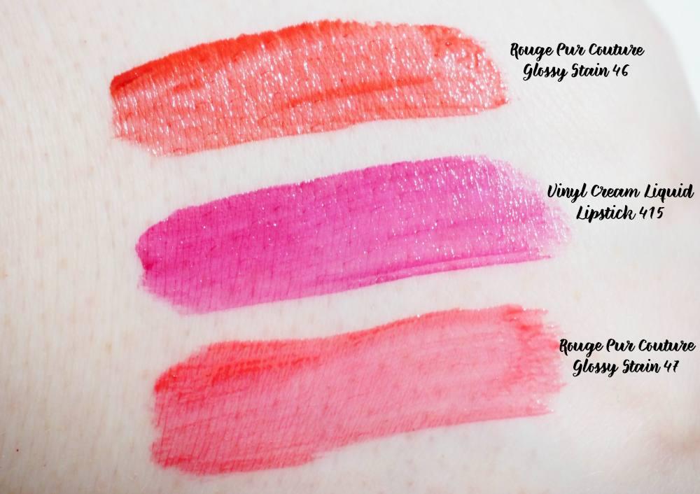 YSL Liquid Lipstick Wardrobe