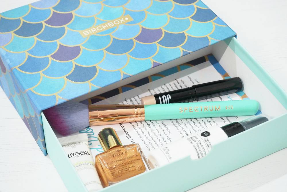 Birchbox August 2017 Unboxing and First Impressions