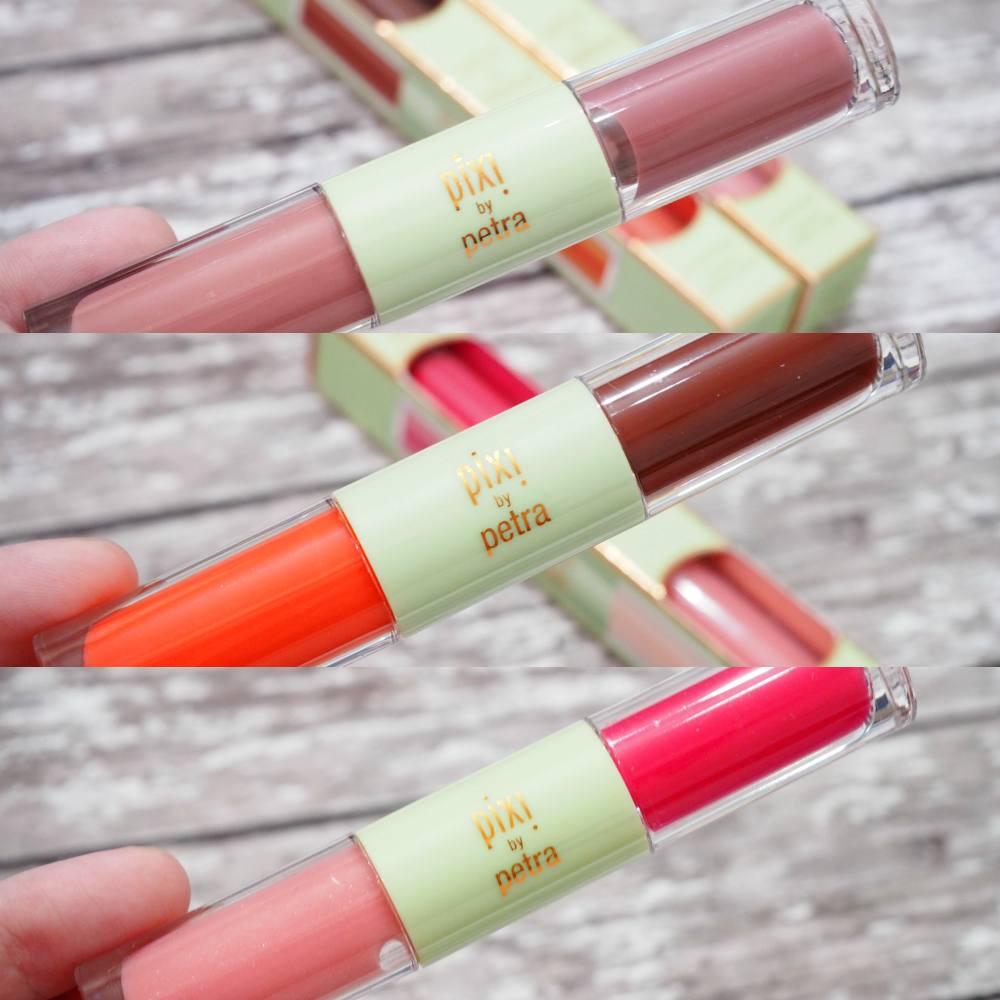Pixi GelTints and SilkGloss + Sheer Cheek Gels