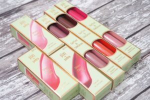 Pixi Sheer GelTints and SilkGloss + Sheer Cheek Gels