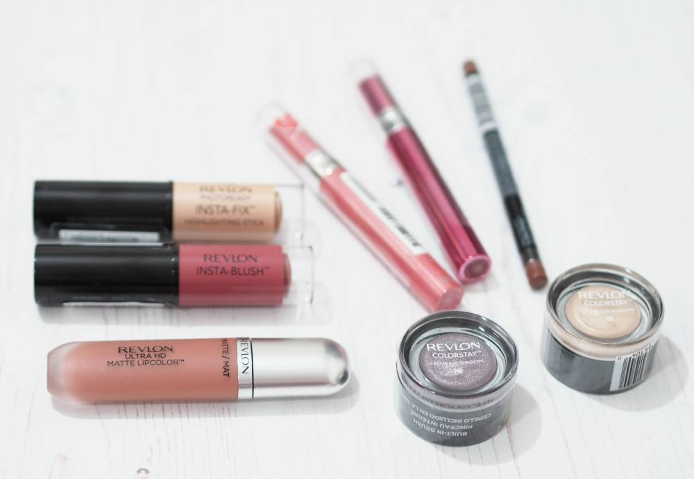 776d25bf7ce Revlon Makeup Haul ft ColorStay Creme Eyeshadows, HD Lip Colors