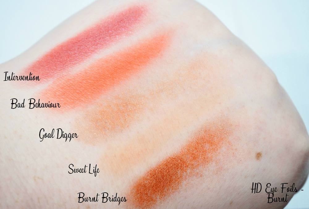 The Disappointing Freedom HD Eye Foils Review and Swatches