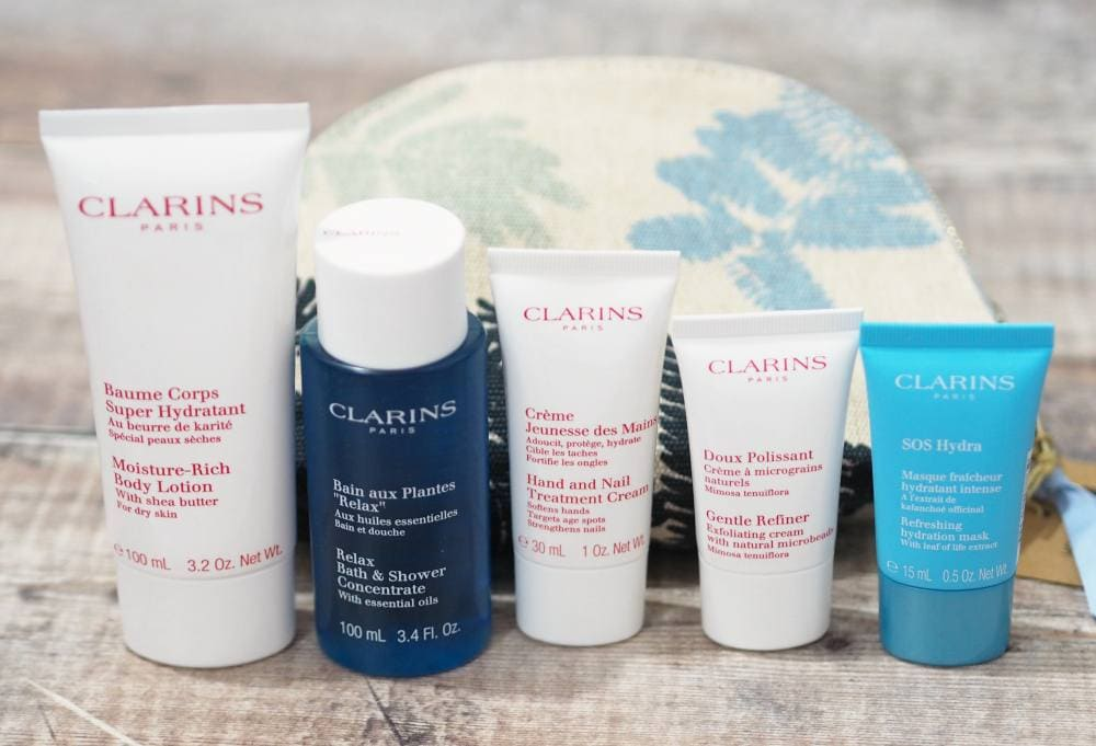 Clarins Feed10 Gift With Purchase with a Difference