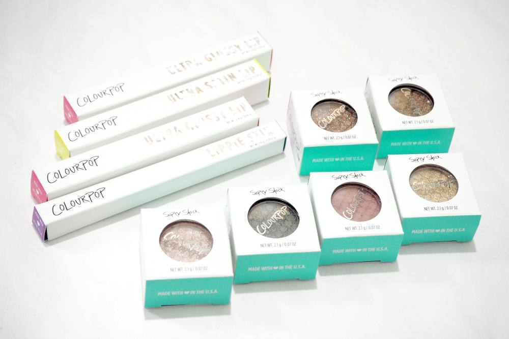 ColourPop Haul Review and Swatches