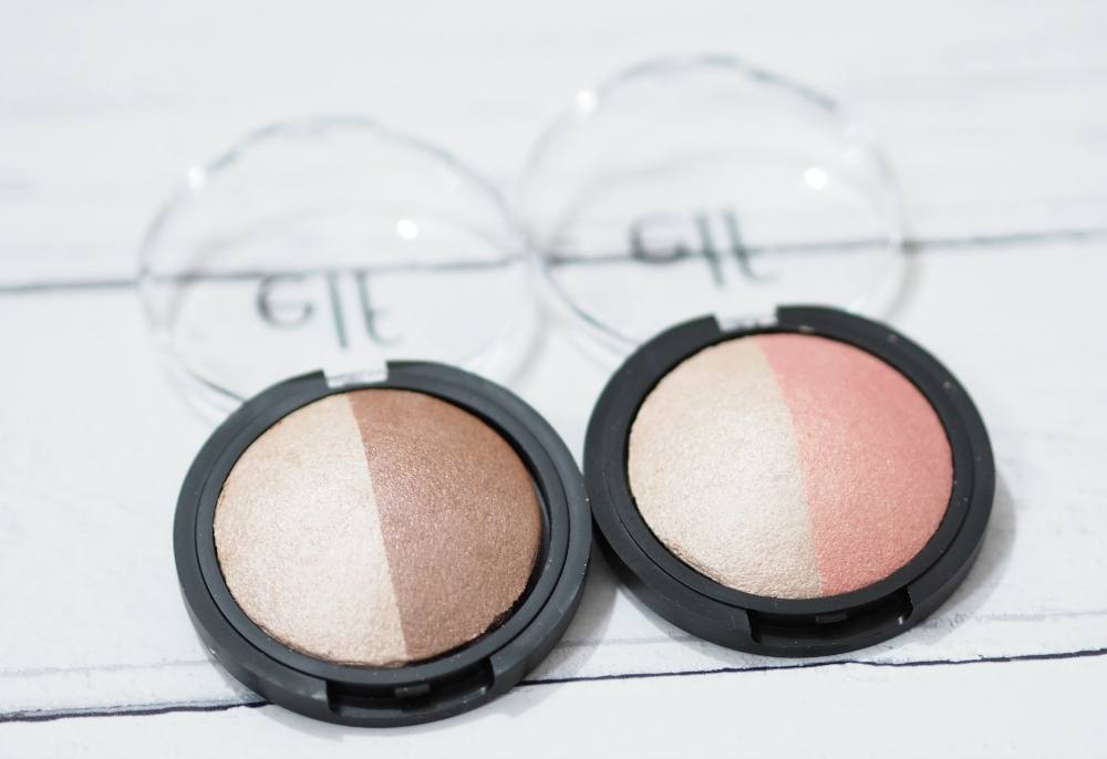 ELF Baked Highlighter and Blush + Baked Highlighter and Bronzer