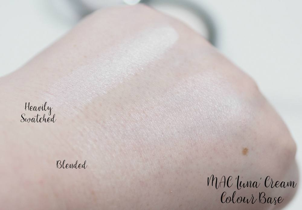 MAC Luna Cream Colour Base Review and Swatches
