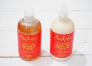Shea Moisture Fruit Infused Coconut Water Weightless Shampoo and Conditioner