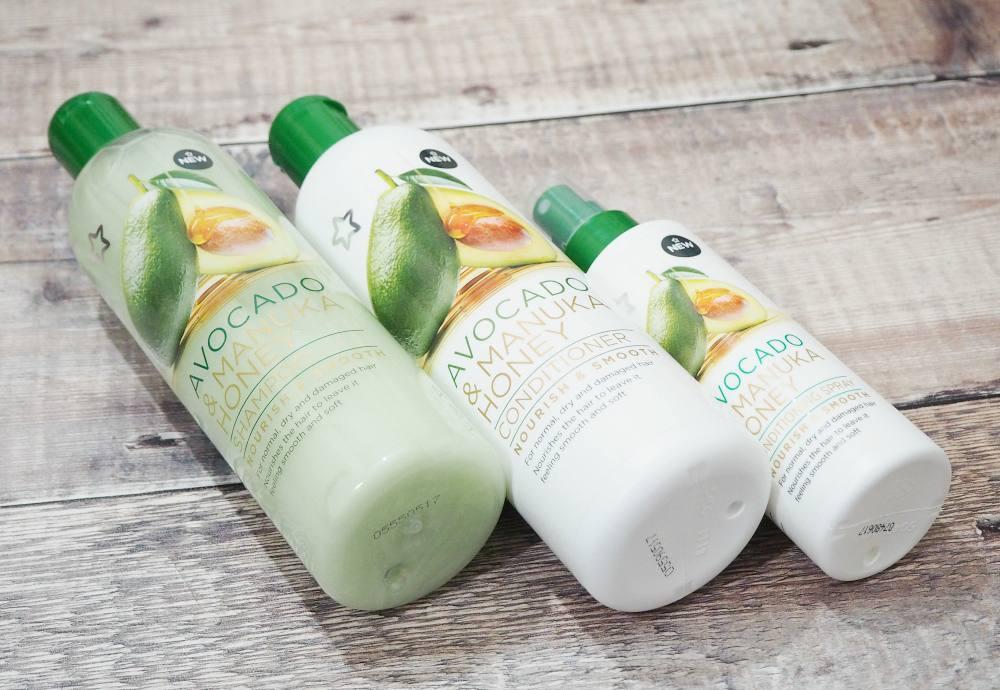 Superdrug Avocado and Manuka Honey Haircare Collection