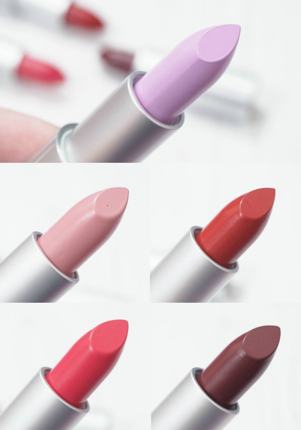 Feral Cosmetics Liquid Matte Lipsticks and Ultra Satin Lipsticks
