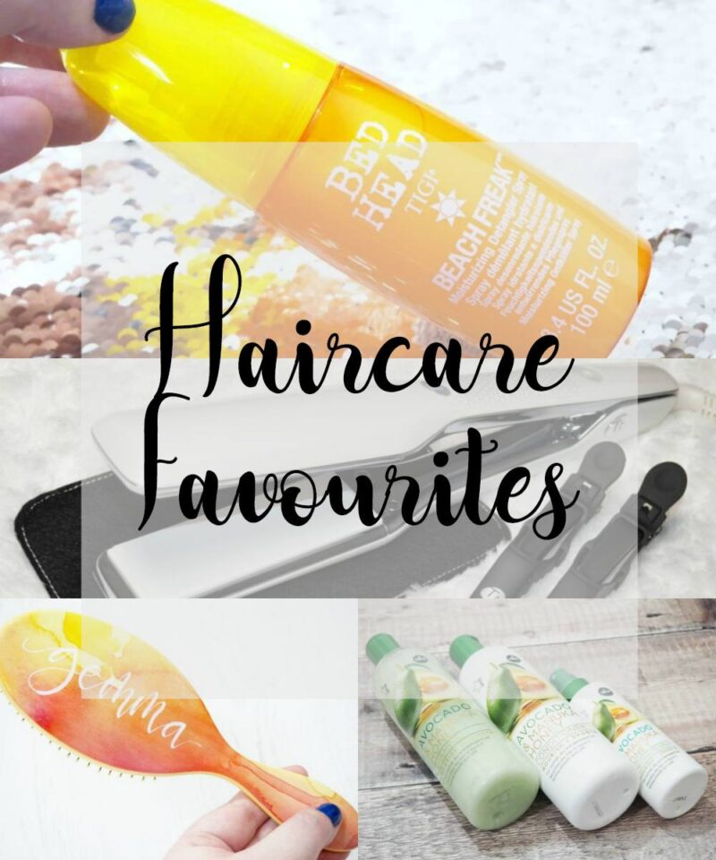 Haircare Favourites 2017