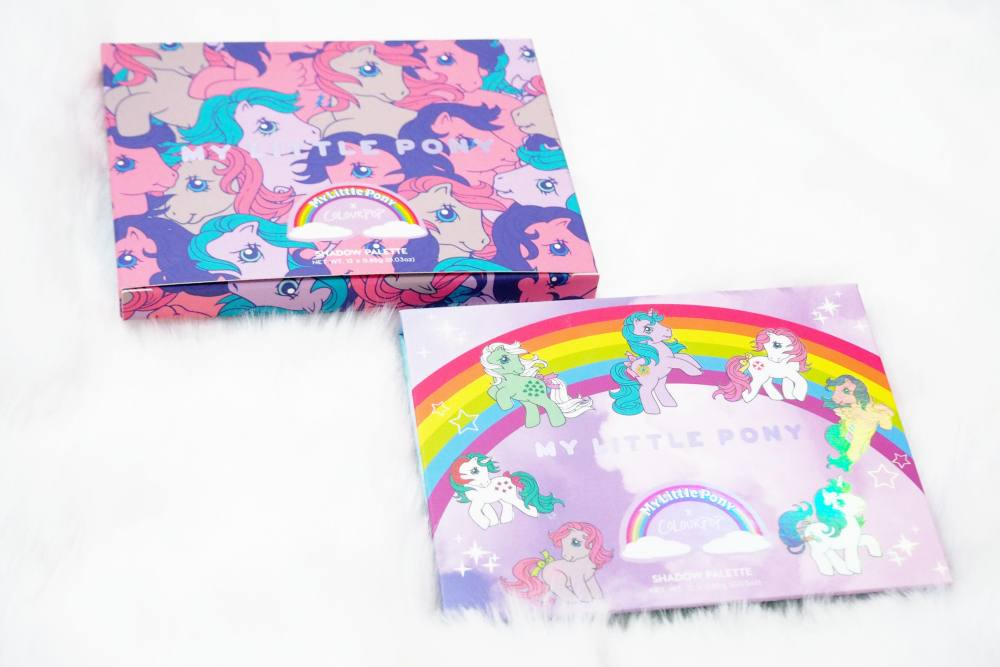 The ColourPop My Little Pony Collection - Review and Swatches