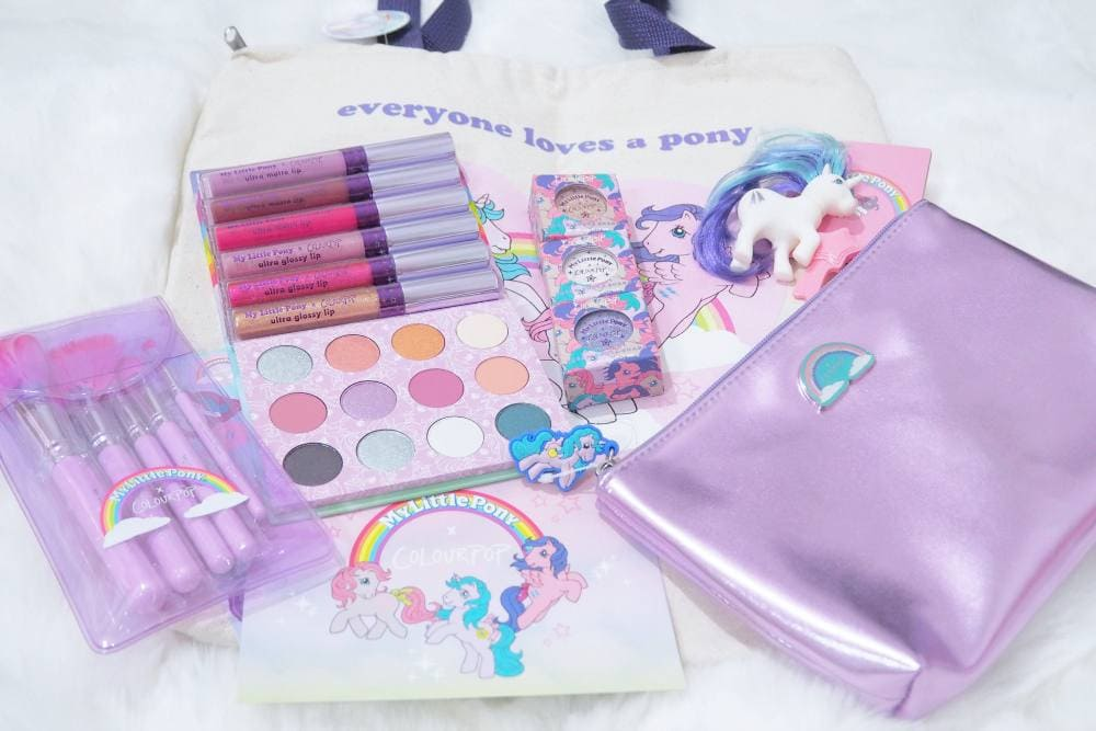 Colourpop My Little Pony Collection Review And Swatches