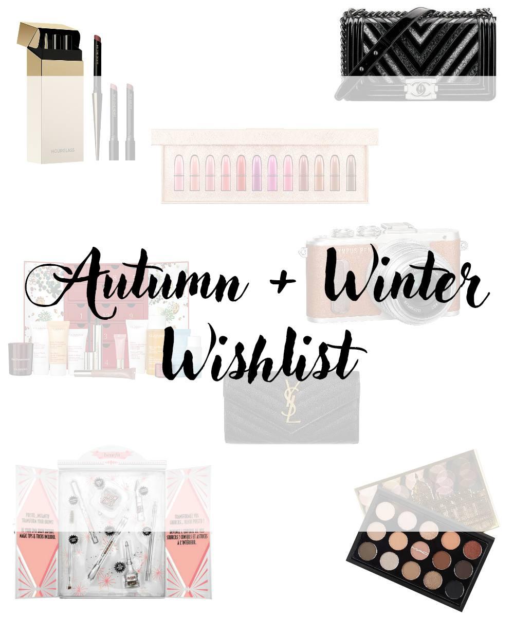 Autumn and Winter Wishlist