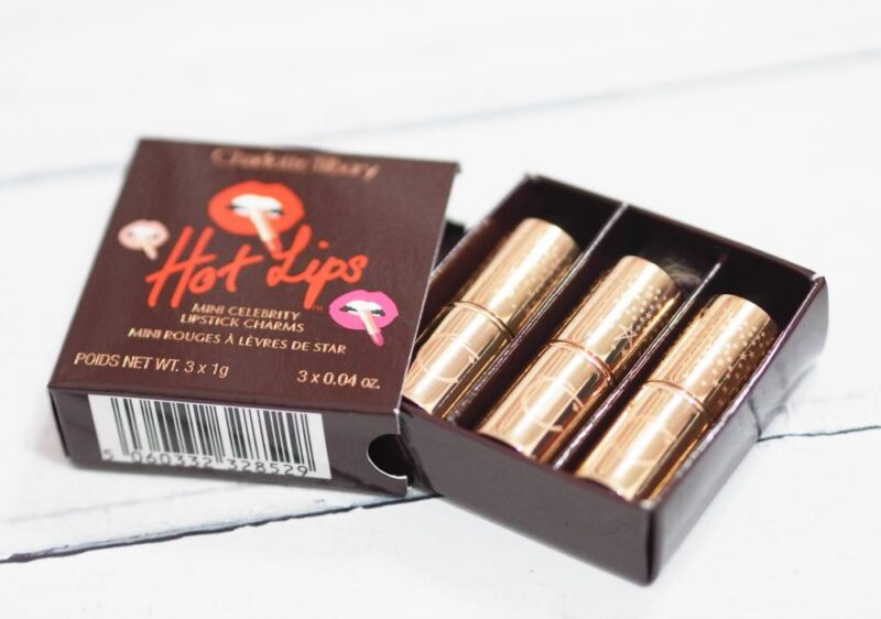 Charlotte Tilbury Hot Lips Mini Celebrity Lipstick Charms