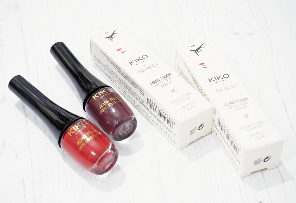 Kiko Asian Touch Makeup Collection